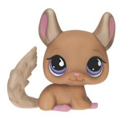 Littlest Pet Shop Singles Chinchilla (#799) Pet