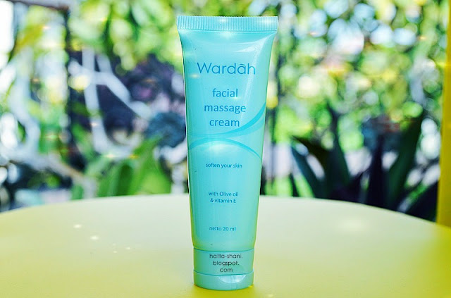 Wardah facial massage cream review