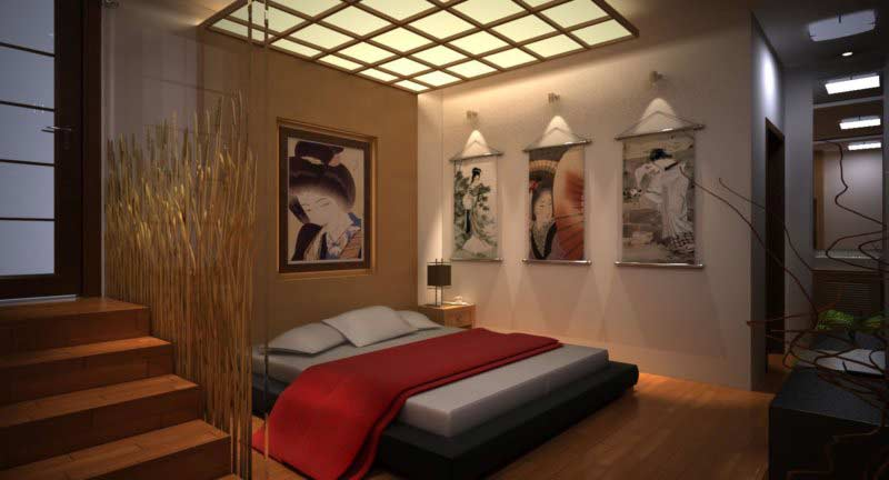 Japanese Style Bedroom, Japanese Bedroom Decor Ideas And Furniture Design