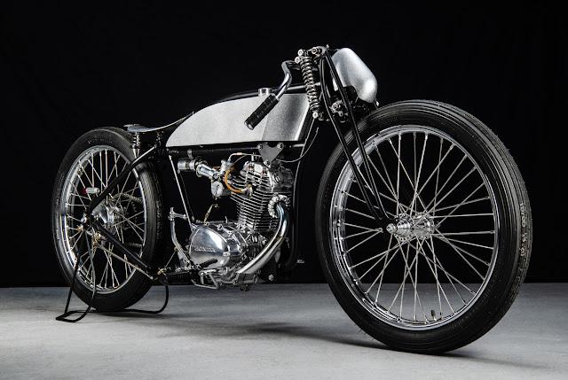 Douglas EW350 1926 By Sabotage Motorcycle Hell Kustom