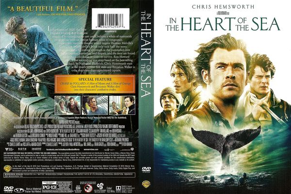 In The Heart Of The Sea – Latino, Inglés – DVD9