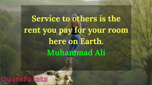 quotes about community service and helping others