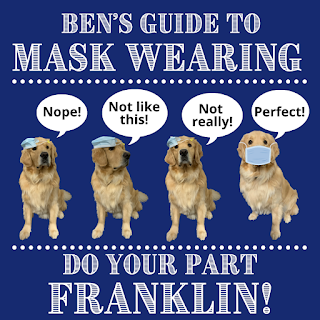Ben's guide to mask wearing - #DoYourPartFranklin