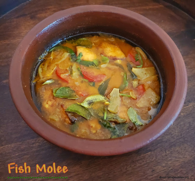 images of Fish Molee / Meen Moliee / Fish Molly / Fish Moli / Kerala Style Fish Molee