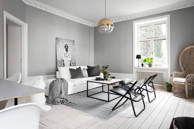 Einrichten und Wohnen in Grau - Wohnzimmer, Küche, Schlafzimmer im konsequenten Design