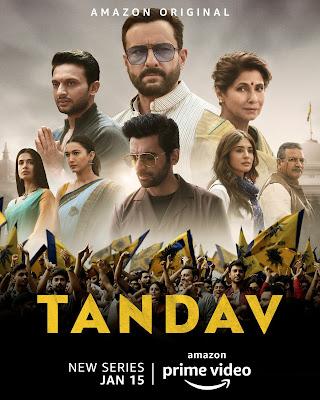 Tandav (2021) Season 01 Hindi Complete WEB Series 720p HDRip HEVC ESub x265