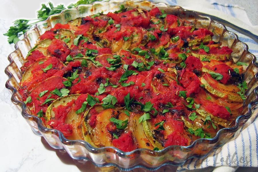 Бриам - овощи по-гречески