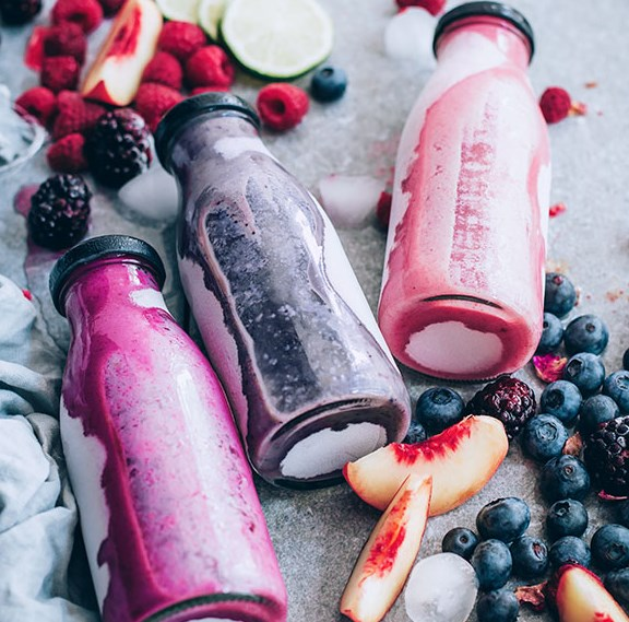 Berry Smoothie Recipes, 3 Ways #drink #healthy