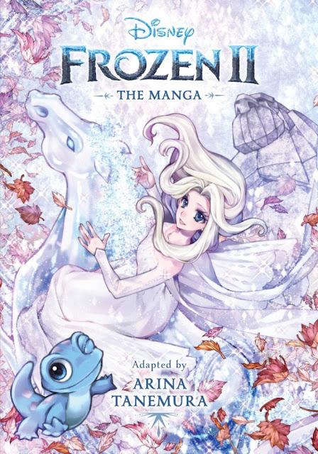 El manga de Frozen II de Arina Tanemura ya tiene portada.