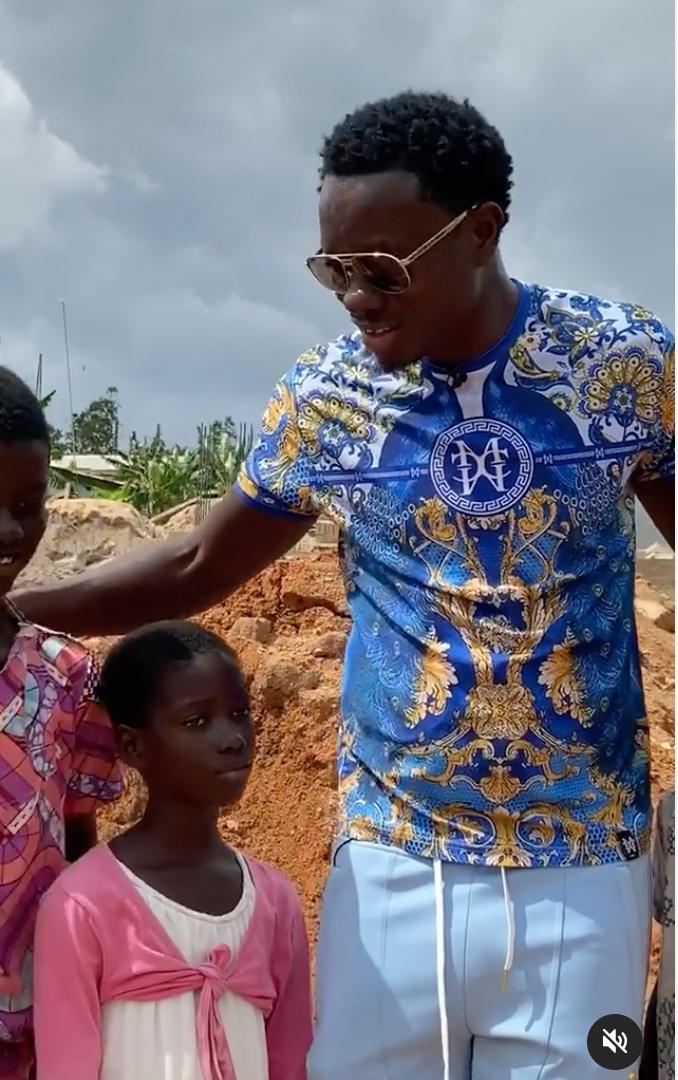 Michael Blackson to build school in his village