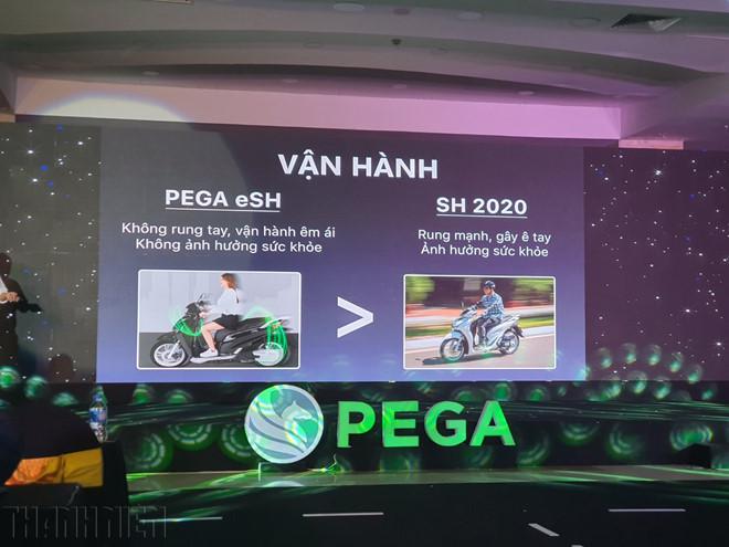 Pega eSH và Honda SH - khi 'ông nhỏ' chiêu trò - ảnh 1