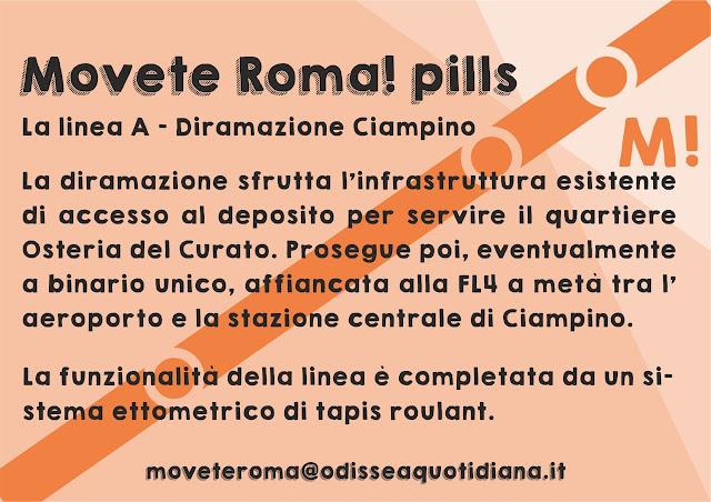 Movète Roma Pillola, numero 3 - La Linea A diramazione Ciampino