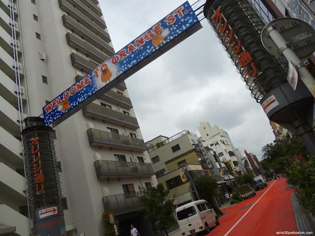 Orange Street en Asakusa, Tokio