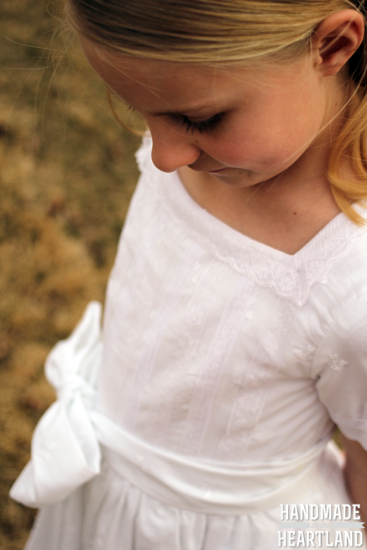Handmade Baptism Dress