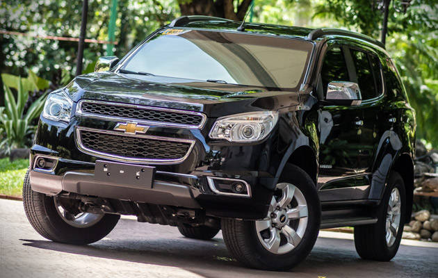 Chevrolet Trailblazer 2016 price Philippines
