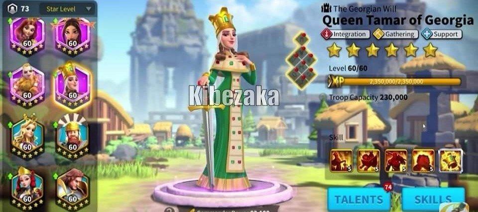 queen tamar of georgia rise of kingdoms
