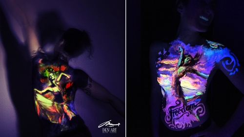 00-Danny-Setiawan-Denart-Studio-Body-Painting-with-a-UV-Paint-and-a-Black-Light-www-designstack-co