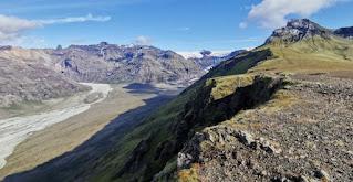 Parque Nacional Skaftafell, glaciar Morsarjökull y Morsárdalur.