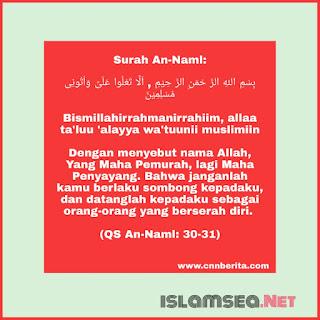 Doa Nabi Sulaiman untuk memancing