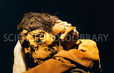 mummy of a Chachapoya