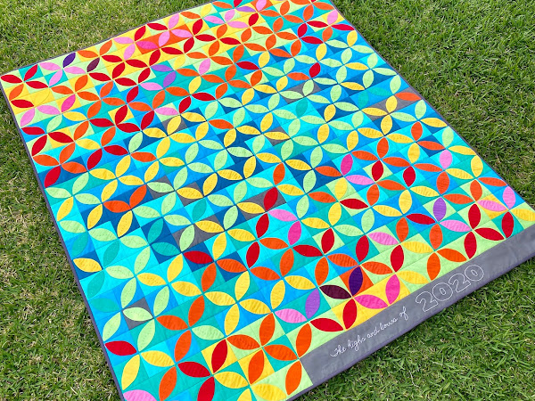 The Highs and Lows of 2020 - Temperature Quilt