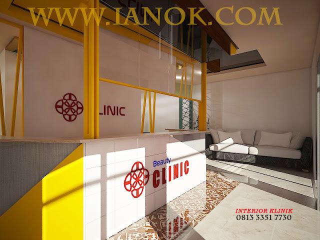 Desain Ruang tunggu Klinik Surabaya Sidoarjo