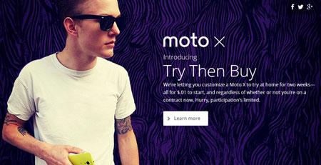 Motorola Beri Kesempatan Untuk Jajal Moto X!