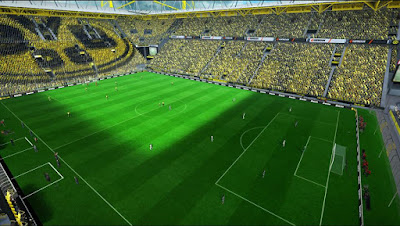 PES 2013 Vicen Patch Stadium Signal Iduna Park