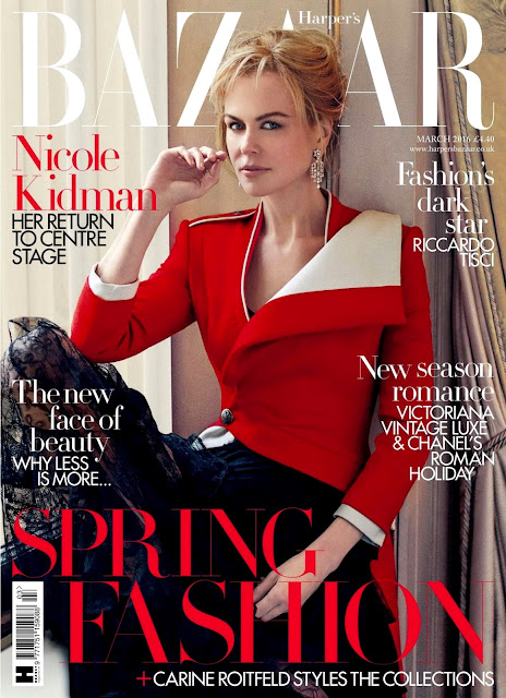 Actress, @ Nicole Kidman - Harper's Bazaar UK, March 2016