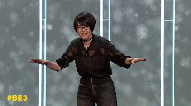 Bethesda E3 2019 Ikumi Makamura Ghostwire Tokyo Japanese woman
