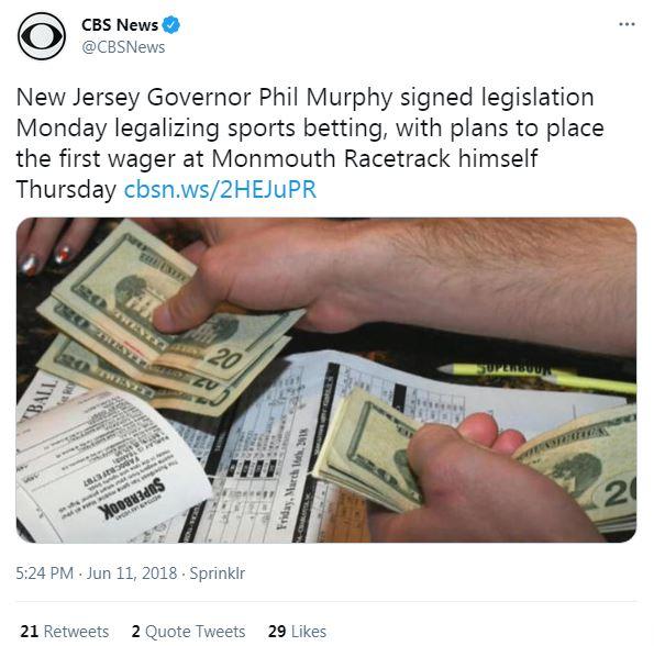 new jersey governor betting legislation legal gambling nj