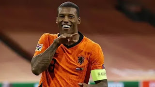 Wijnaldum has an agreement in place to join Barcelona