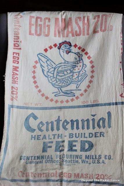 vintage feedsack