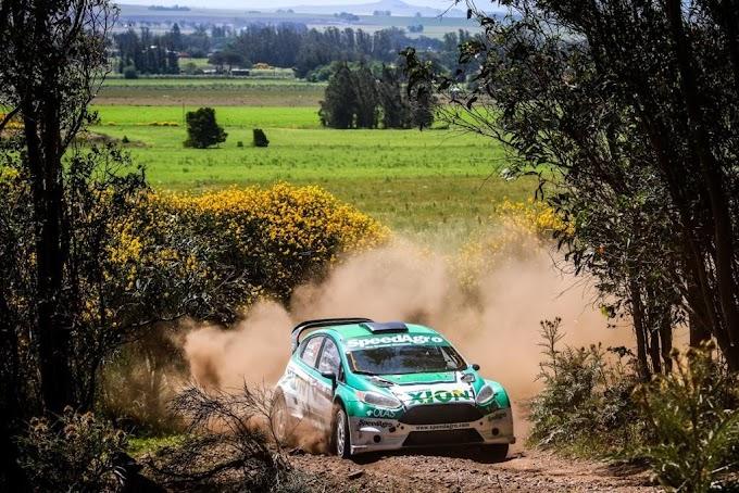Nicolas Diaz ganó el primer argentino de Rally de Balcarce