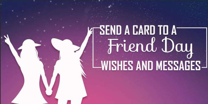National Send a Card to a Friend Day Wishes Lovely Pics