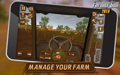 Mod Apk Farmer Sim 2018 Android