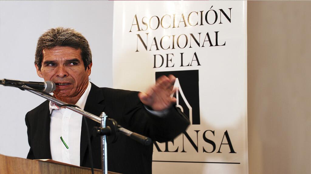El periodista del diario El Deber Guider Arancibia Guillén en una fotografía de archivo / FRANZ CHÁVEZ / ANP-Diarios//