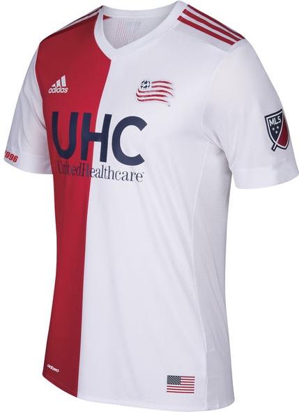 f09a06d333 Adidas lança a nova camisa reserva do New England Revolution para a MLS 2017