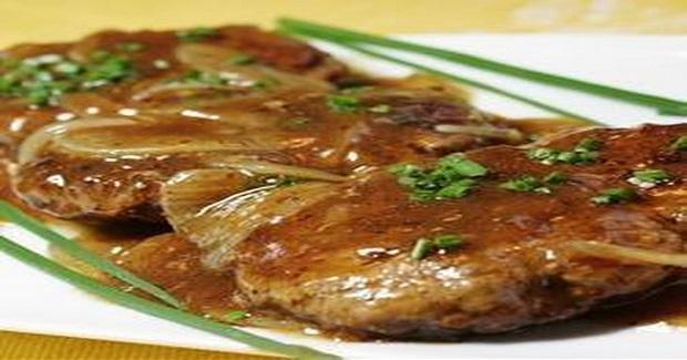 Hamburger Steak With Onions And Gravy Recipe