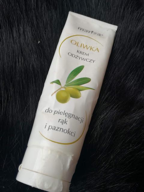 Krem odżywczy do pielęgnacji rąk i paznokci oliwkowy mariza