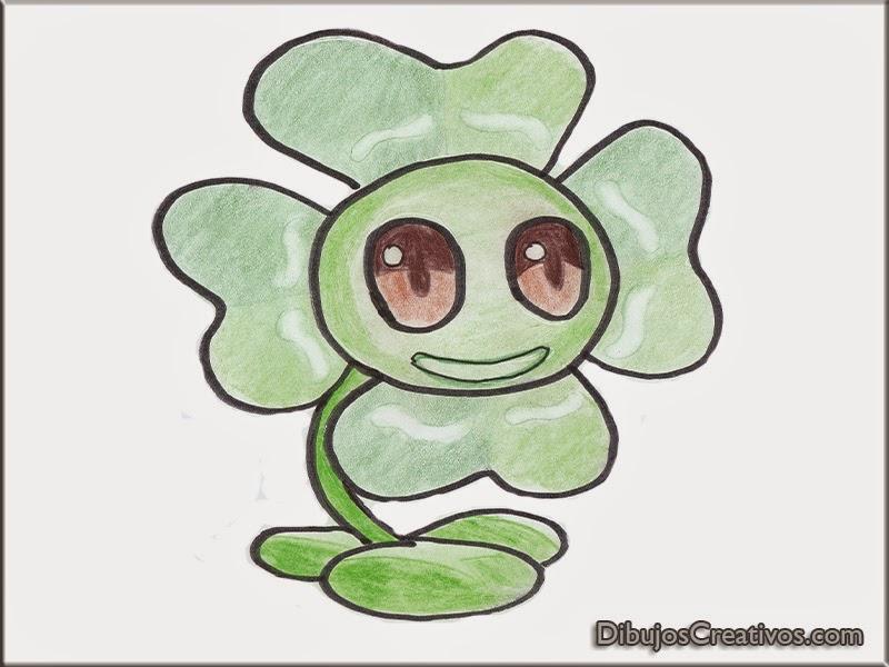 Dibujos Para Colorear De Plantas Vs Zombies Para Imprimir