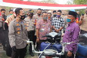 Kunjungi Kampung Tangguh di Kedung Gunung Kaler, Kapolresta Tangerang Ajak Warga Tingkatkan Kepedulian pada Sesama.