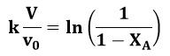 Ecuación simplificada para resolver el ejemplo 1