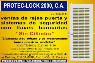 PROTEC-LOCK 2000 C.A en Paginas Amarillas tu guia Comercial