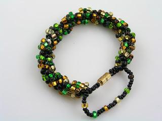 Seed Bead Bracelet, Handmade