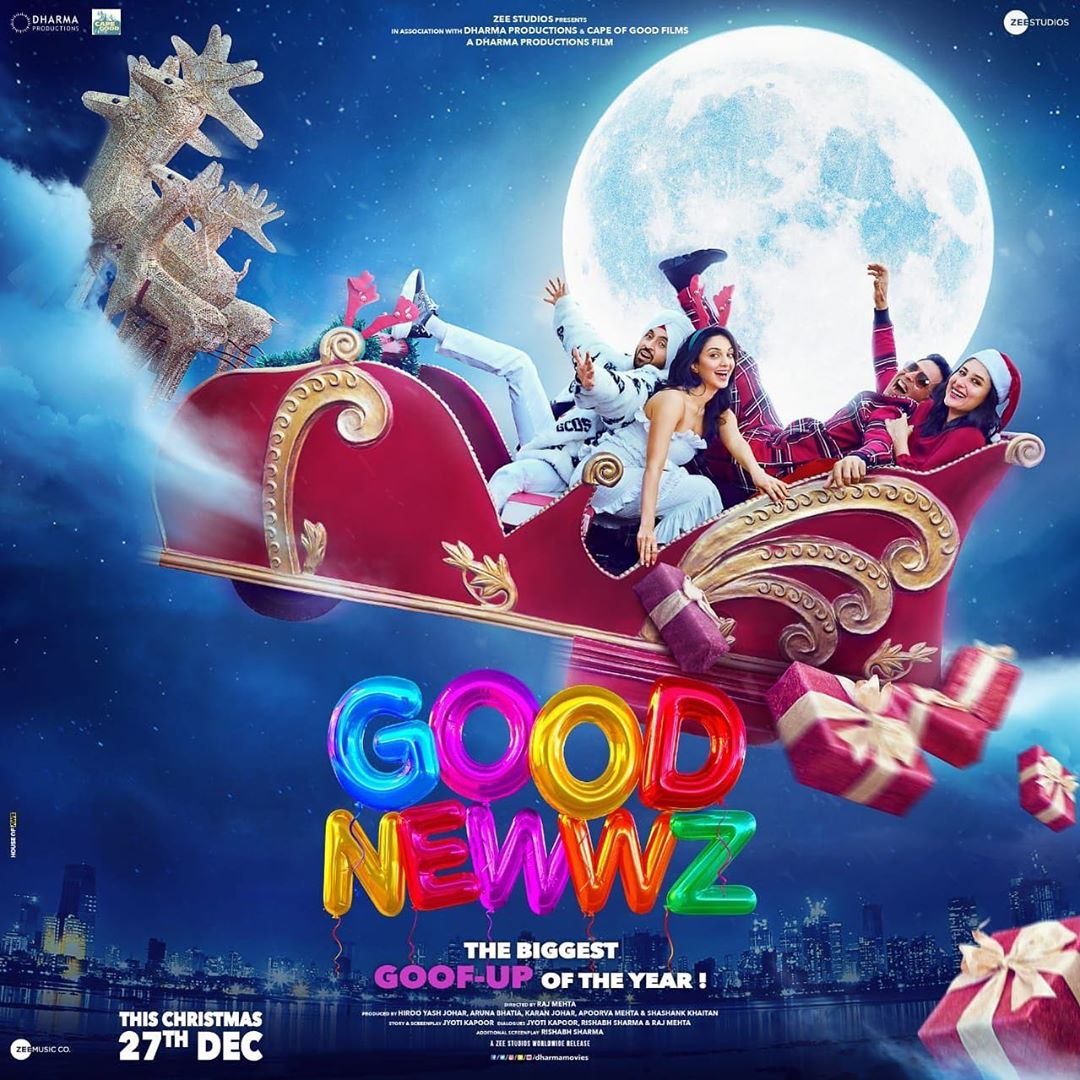 Good Newwz Movie (2019) Trailer, Reviews, Cast, Release Date, Budget, Boxoffice collection