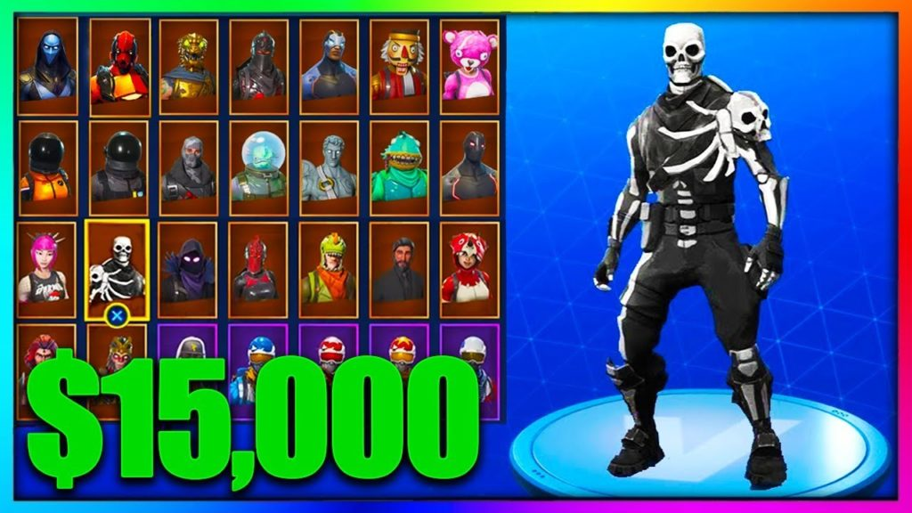 Fortnite X500 Fortnite Accounts With 1 15 Skins All Skinned