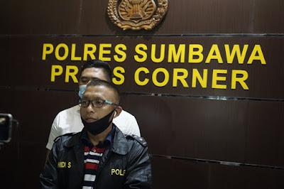 Jumpa Pers di Polres Sumbawa