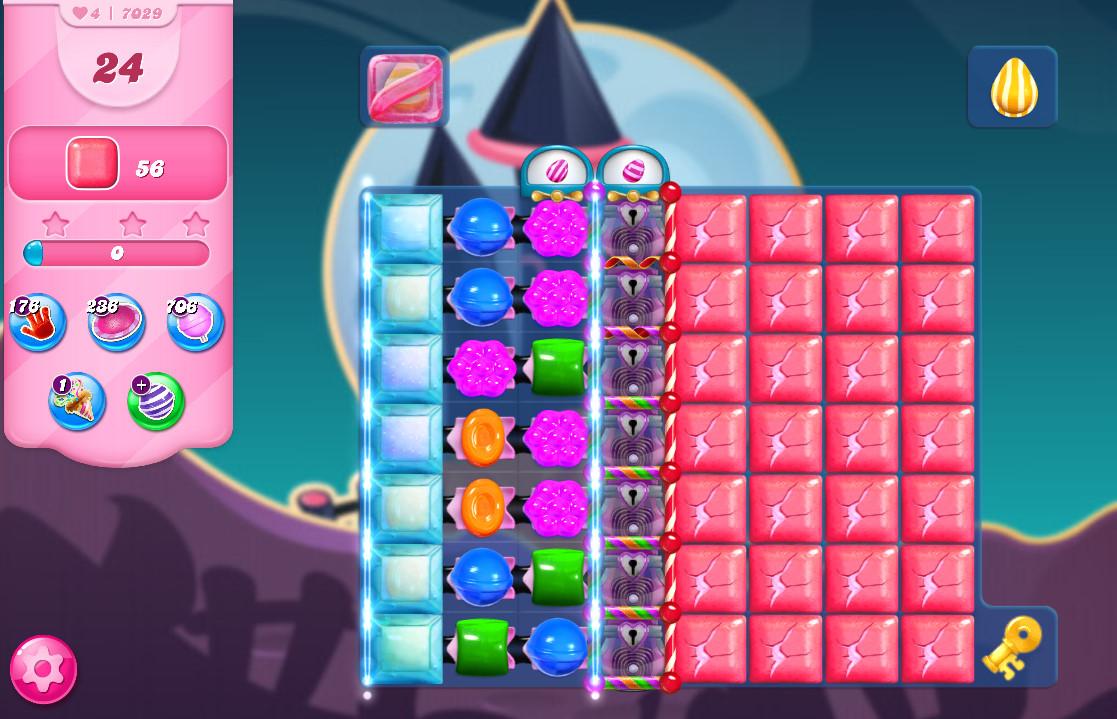 Candy Crush Saga level 7029