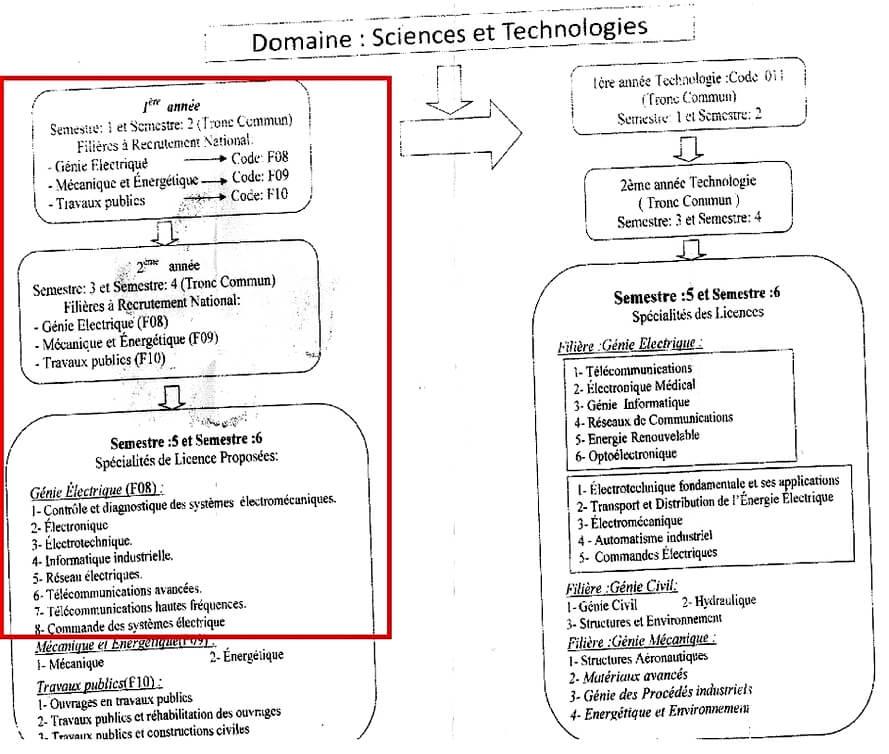 تخصص هندسة كهربائية والإلكترونيك